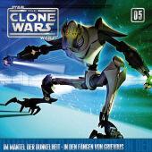 Star Wars, The Clone Wars - Mantel der Dunkelheit - In den Fängen von Grievous, 1 Audio-CD Cover