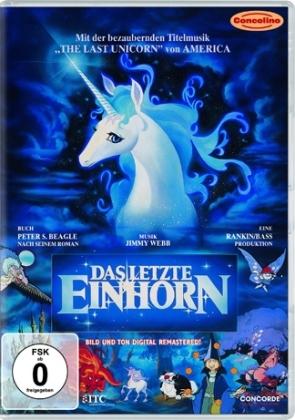 Das letzte Einhorn, 1 DVD