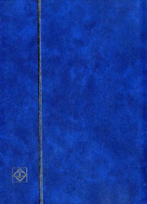 Einsteckbuch DIN A4, 32 weiße Seiten, blau