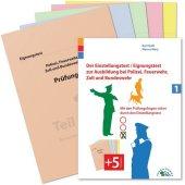 Der Eignungstest / Einstellungstest zur Ausbildung bei Polizei, Feuerwehr, Zoll und Bundeswehr Cover