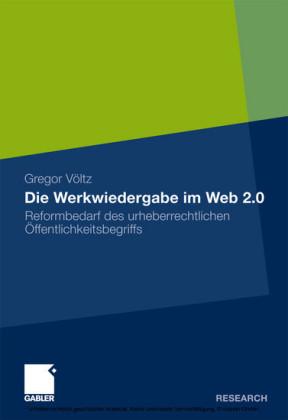 Die Werkwiedergabe im Web 2.0