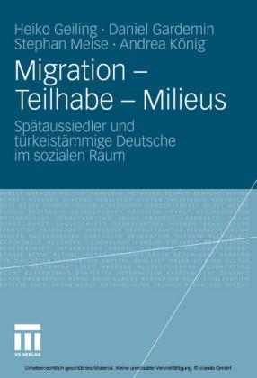 Migration - Teilhabe - Milieus
