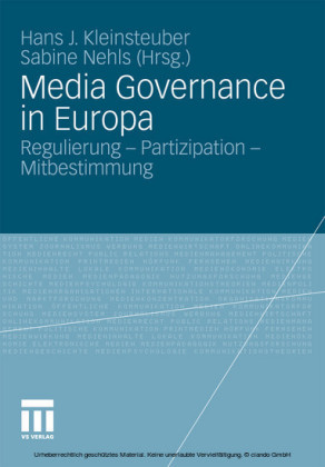 Media Governance in Europa