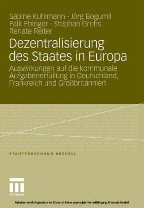 Dezentralisierung des Staates in Europa