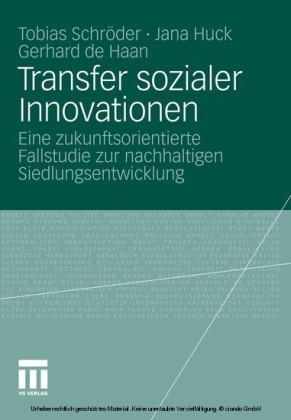 Transfer sozialer Innovationen