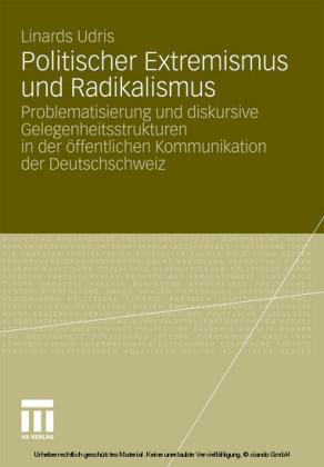 Politischer Extremismus und Radikalismus