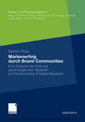 Markenerfolg durch Brand Communities
