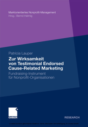 Zur Wirksamkeit von Testimonial Endorsed Cause-Related Marketing