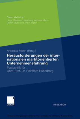 Herausforderungen der internationalen marktorientierten Unternehmensführung