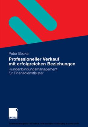 Professioneller Verkauf mit erfolgreichen Beziehungen