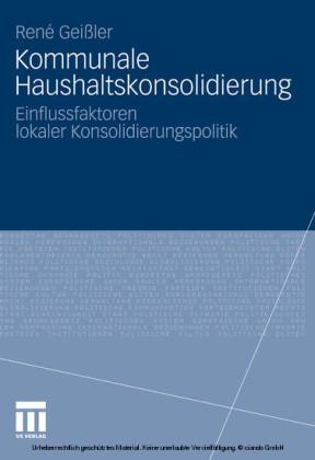 Kommunale Haushaltskonsolidierung