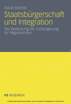 Staatsbürgerschaft und Integration