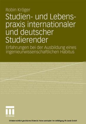 Studien- und Lebenspraxis internationaler und deutscher Studierender