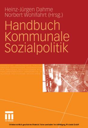 Handbuch Kommunale Sozialpolitik