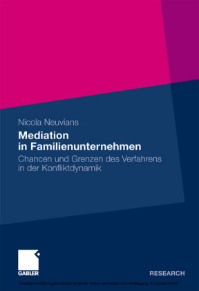 Mediation in Familienunternehmen