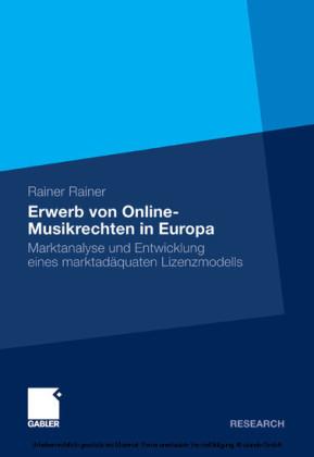 Erwerb von Online-Musikrechten in Europa