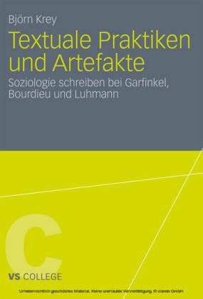 Textuale Praktiken und Artefakte