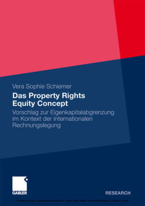 Das Property Rights Equity Concept