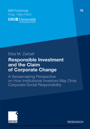 Responsible Investment and the Claim of Corporate Change