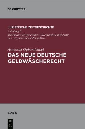 Das neue deutsche Geldwäscherecht