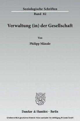 Verwaltung (in) der Gesellschaft.