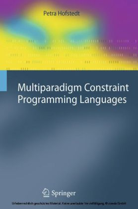 Multiparadigm Constraint Programming Languages