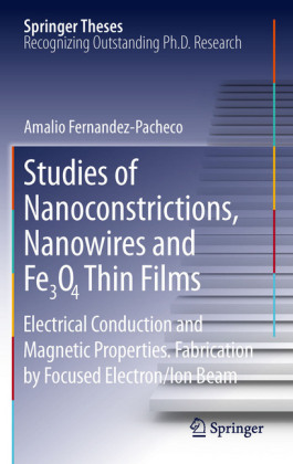 Studies of Nanoconstrictions, Nanowires and Fe3O4 Thin Films