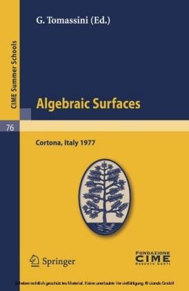 Algebraic Surfaces