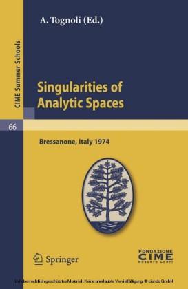 Singularities of Analytic Spaces