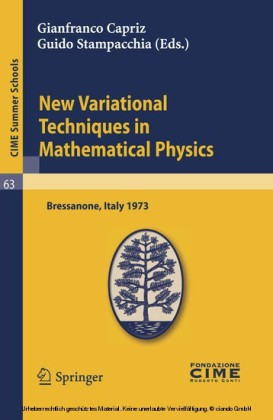 New Variational Techniques in Mathematical Physics