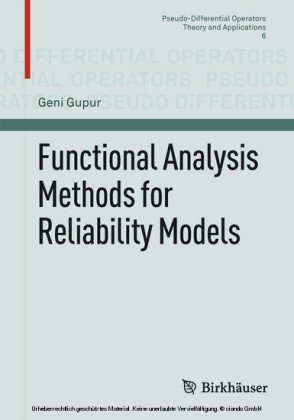 Functional Analysis Methods for Reliability Models