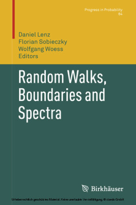 Random Walks, Boundaries and Spectra
