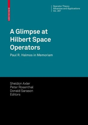 A Glimpse at Hilbert Space Operators