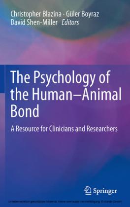 The Psychology of the Human-Animal Bond