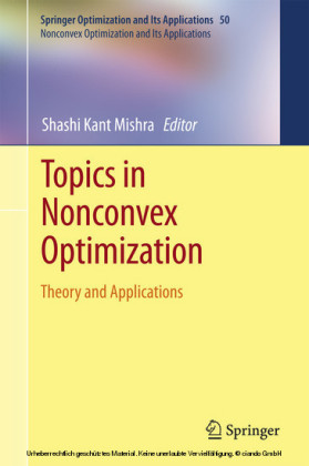 Topics in Nonconvex Optimization