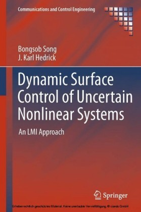 Dynamic Surface Control of Uncertain Nonlinear Systems