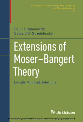 Extensions of Moser-Bangert Theory