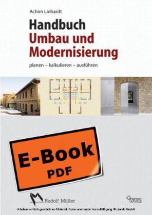 Handbuch Umbau Modernisierung - Planen, kalkulieren, ausführen