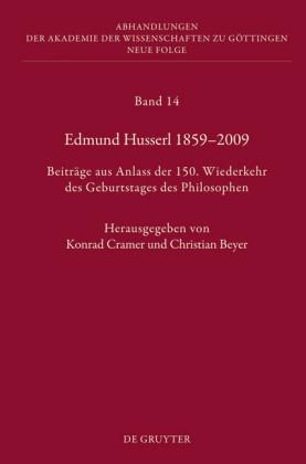 Edmund Husserl 1859-2009