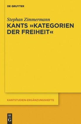 Kants 'Kategorien der Freiheit'