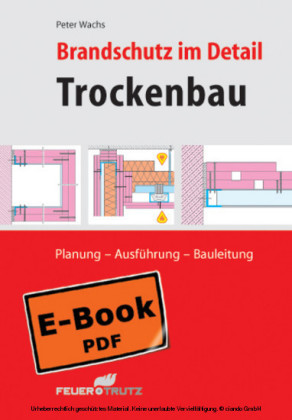 Brandschutz im Detail - Trockenbau (E-Book)