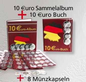 10 Euro Sammelbuch mit 10 Euro Sammelalbum