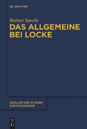 Das Allgemeine bei Locke
