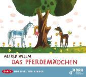 Das Pferdemädchen, Audio-CD Cover