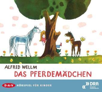 Das Pferdemädchen, Audio-CD