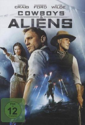 Cowboys & Aliens, 1 DVD