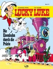 Lucky Luke - Die Eisenbahn durch die Prärie Cover