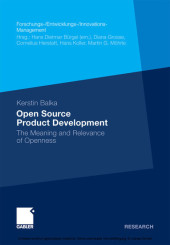 Open Source Product Development