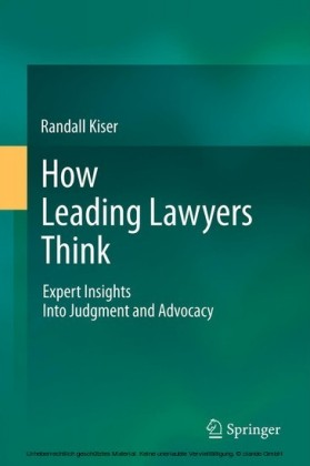 How Leading Lawyers Think