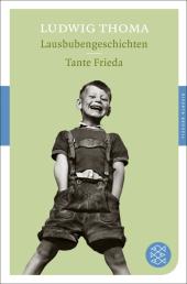 Lausbubengeschichten;Tante Frieda Cover